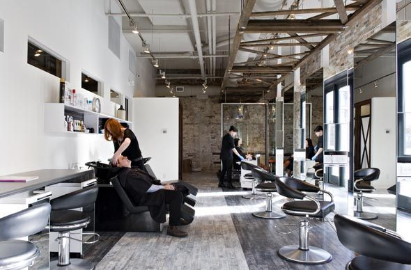 McManus and Campbell opened in November of last year at 90 Distillery Lane. This is the only salon in the Distillery District - a strategic move on the part of owners Sharon McManus and Anelise Campbell.  McManus started doing hair many years ago, beginning her career at Bruce of Crescendo at...
