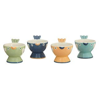 Egg Cups | Novelty Egg Cups | John Lewis
