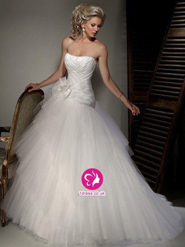 New  best Wedding dresses images on Pinterest Wedding dressses Marriage and Bride