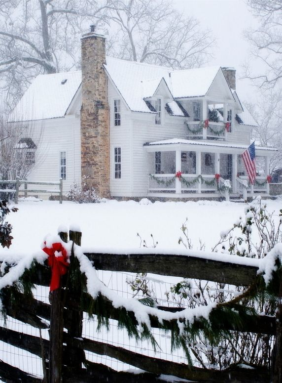 Christmas At The Old Farm House