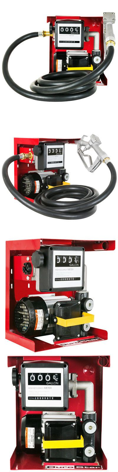 Chippers Shredders and Mulchers 42228: Durostar Dstp15-Ac Electric 16-Gpm Fuel Diesel Oil Transfer Pump W Flow Meter -> BUY IT NOW ONLY: $149.99 on eBay!
