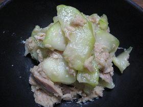 摘果メロンの炒めもの