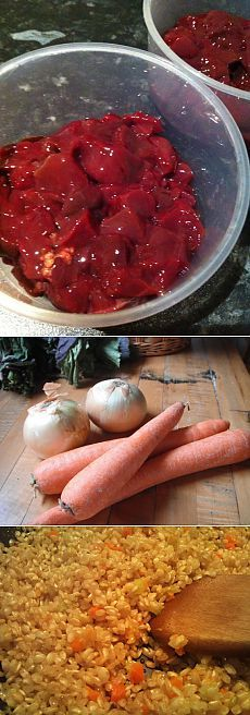 Печень с рисом в духовке / Блюда из курицы / TVCook: пошаговые рецепты с фото