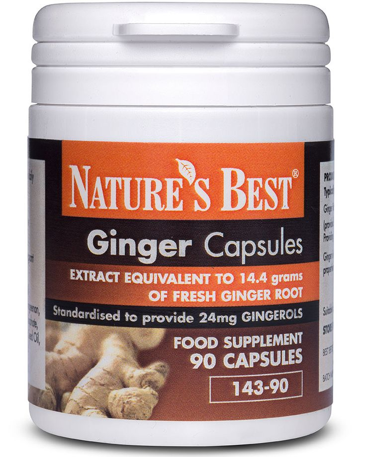 Ginger Capsules 14,400mg |  Highest strength available in the UK