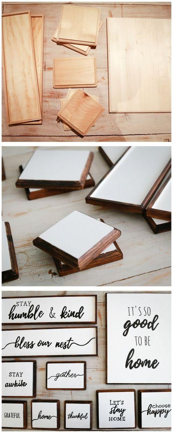 So basteln Sie Ihr Traum-Bauernhaus Holzschilder