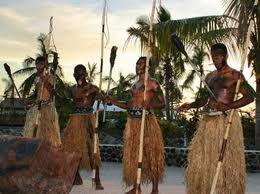 Fijian celebration.