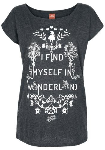 I Find Myself In Wonderland - T-Shirt von Alice im Wunderland