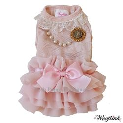 First Date Dress- Pink- Shop By Designer - Wooflink Collection Posh Puppy Boutique $58