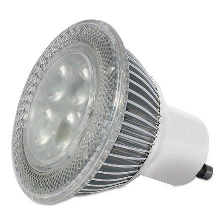 3M LED Advanced Light Bulbs GU-10, 40 Watt, Warm, 415 lm, White