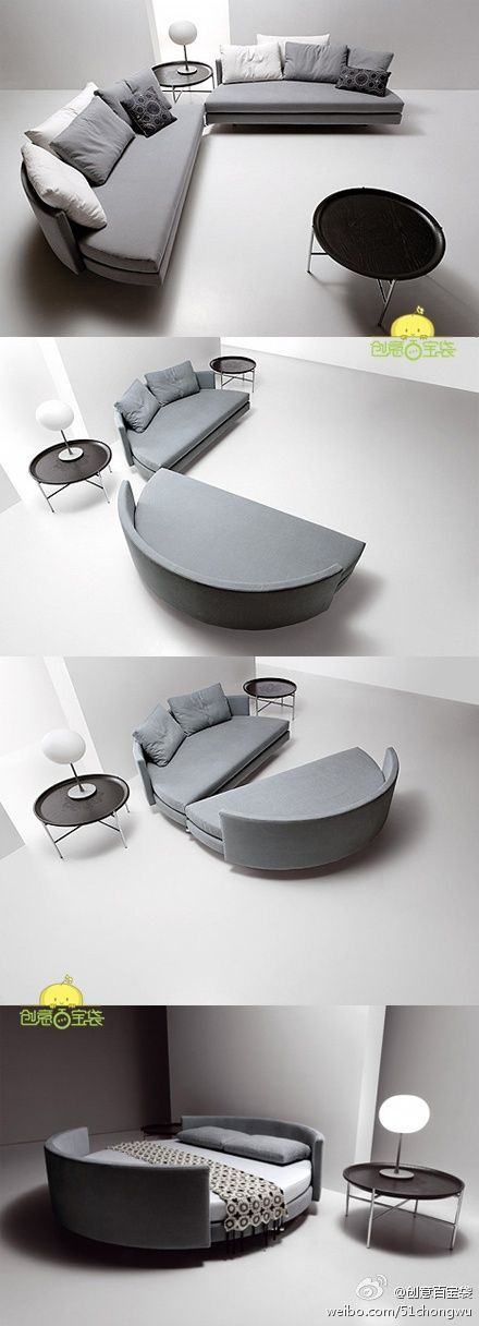 sectional sofa bed - love!