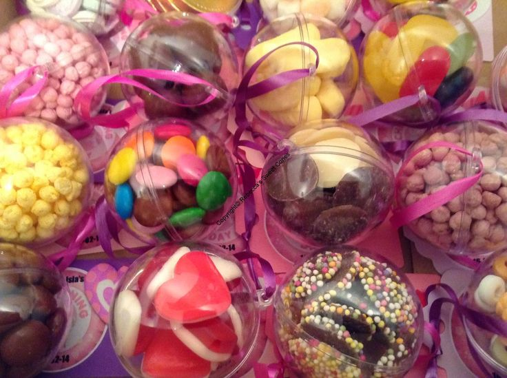 Sweet filled baubles