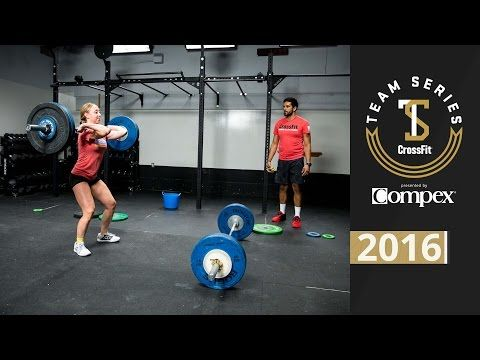 CrossFit Team Series 2016: Event 4 Demo - YouTube