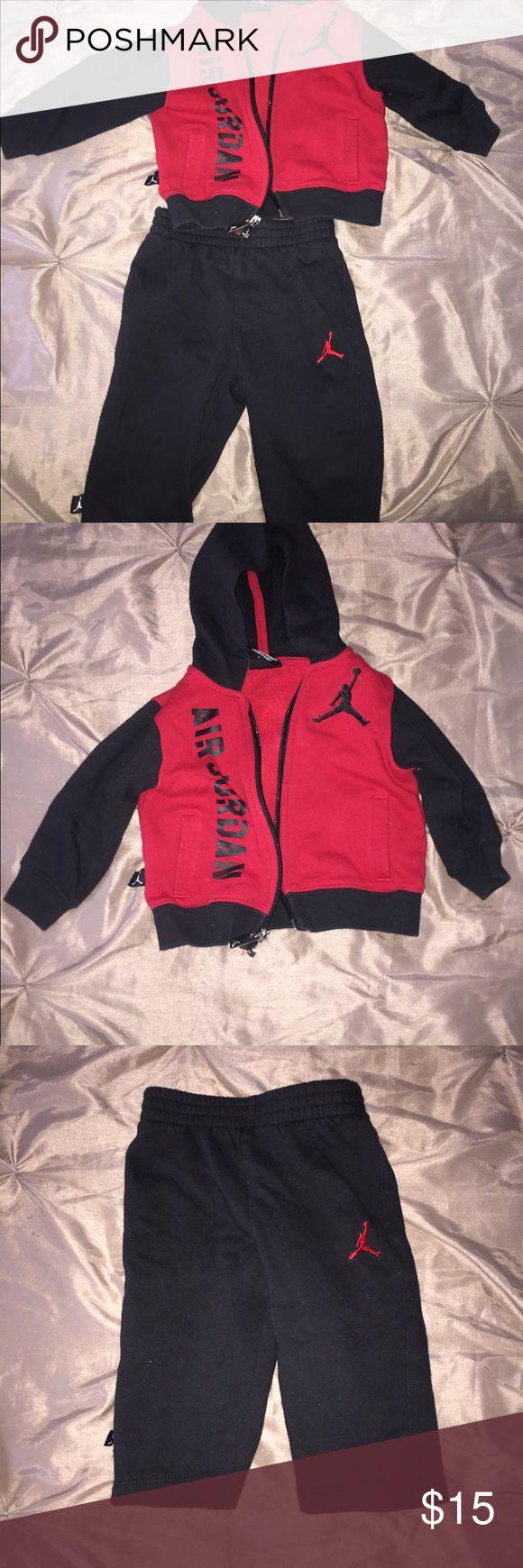 Baby boy two piece set Jordan sweat suit Jordan Matching Sets