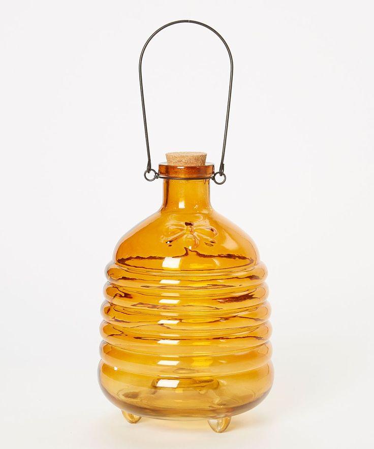 Yellow Glass Wasp Catcher