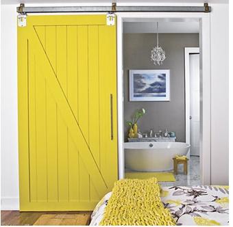 barn door for guest cottage