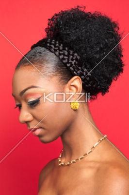 natural hair updos