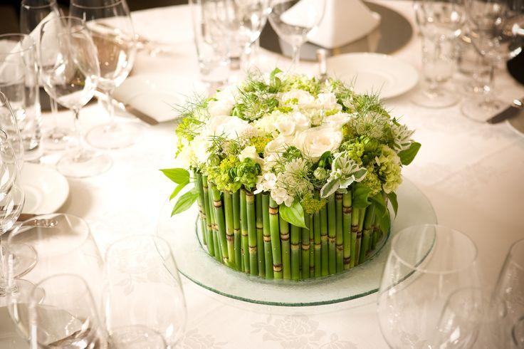 #Wedding ゲストテーブル装花 フローリスト「ニコライ・バーグマン」