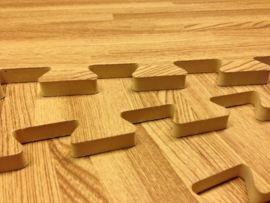 Vloertegel Eikenhouten look 50 x 50 x 1,2 cm | Speelmatten | Boxenland