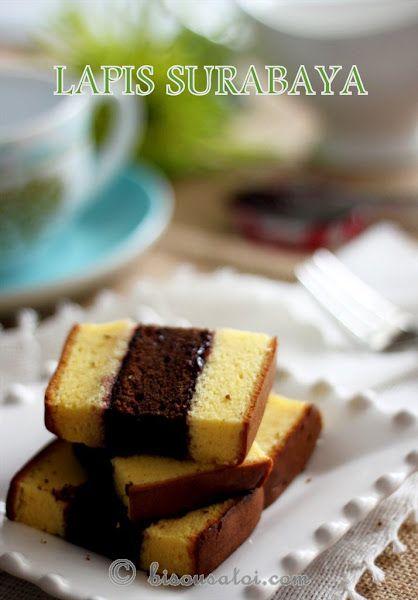 Lapis Surabaya - indonesian cake