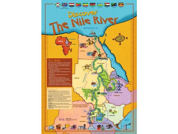 Discover the Nile River Poster Download | Children's Water ...