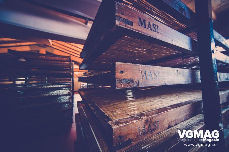 Drying lofts at MASI, Veneto-region, Italy