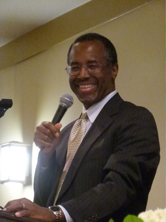 """Dr. Ben Carson delivers keynote address at Barbour County Republican dinner-Republican leader Jeannie Tillis called Carson """"A national hero who spent years saving lives & now wants to save our country""""."""