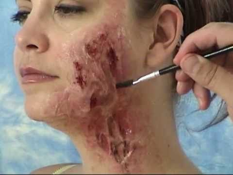 Makeup Special FX: Silicone Burn Scar Effect