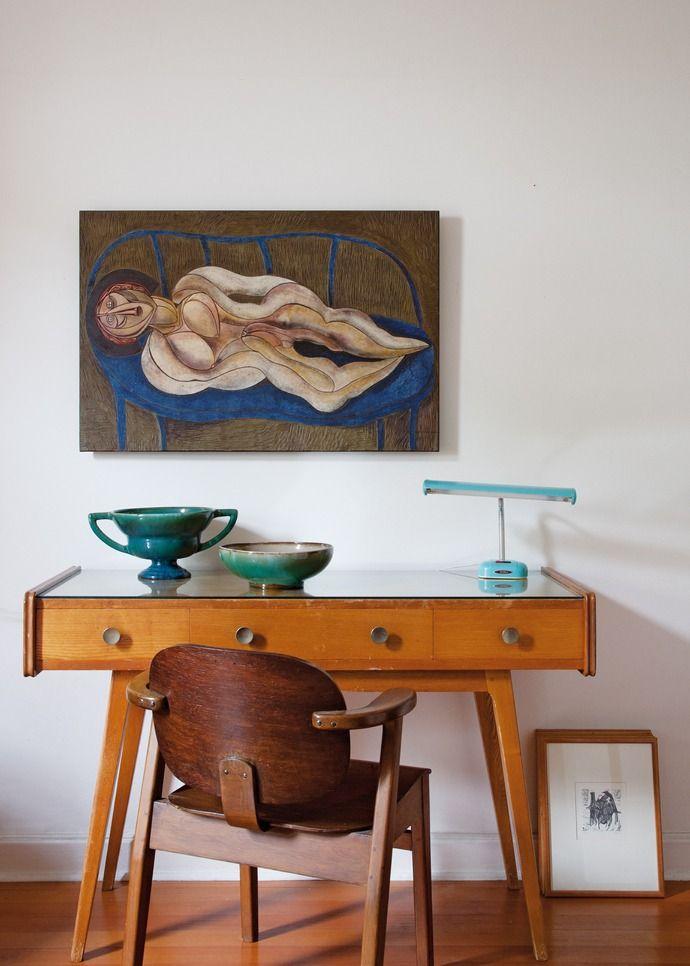 Teak Desk | Danish Modern