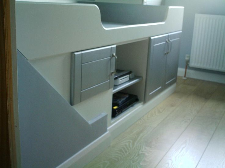 bed over stair box - Google Search