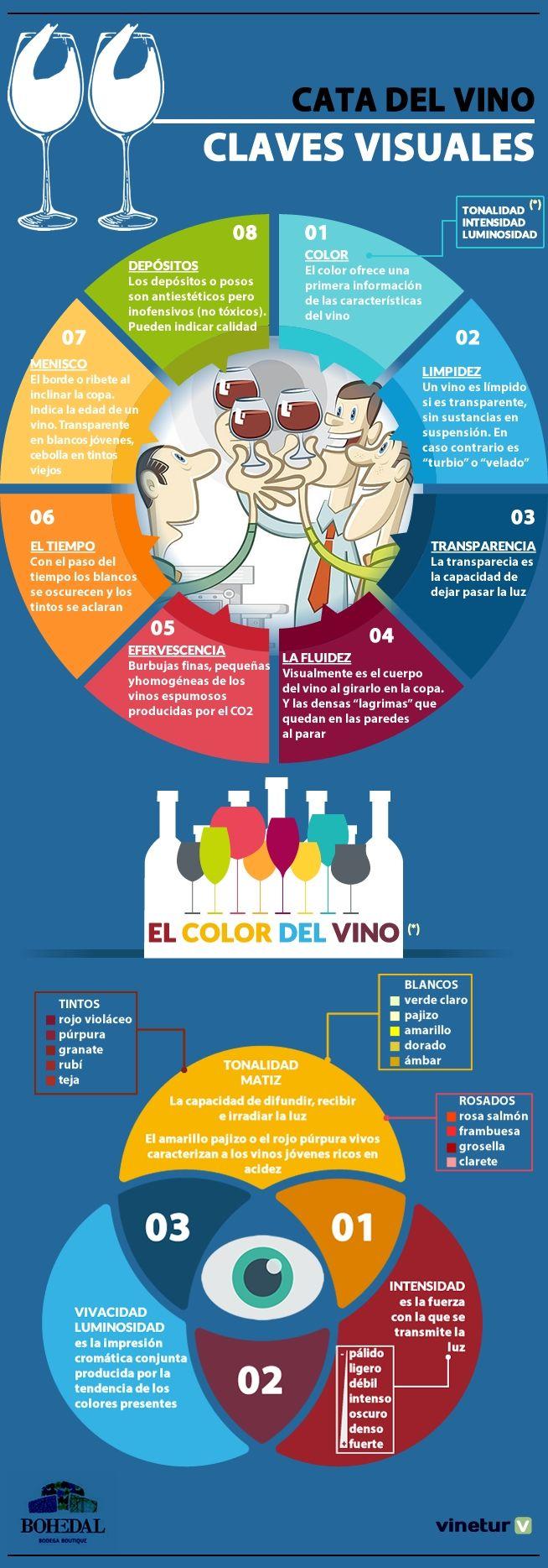 Cómo reconocer un buen vino a primera vista