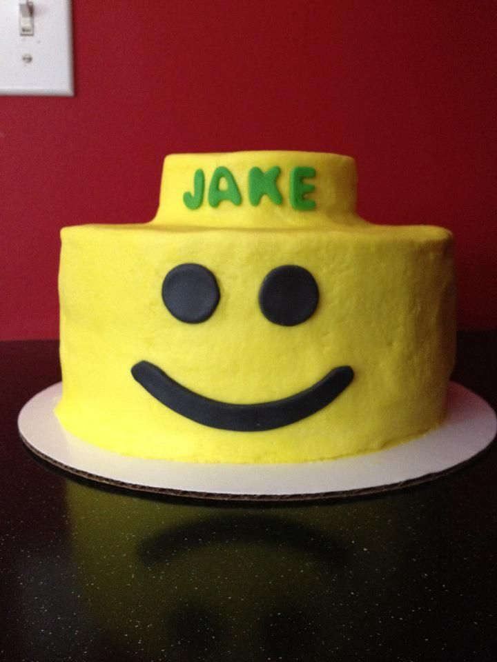 Lego Cake Designs With Buttercream Icing