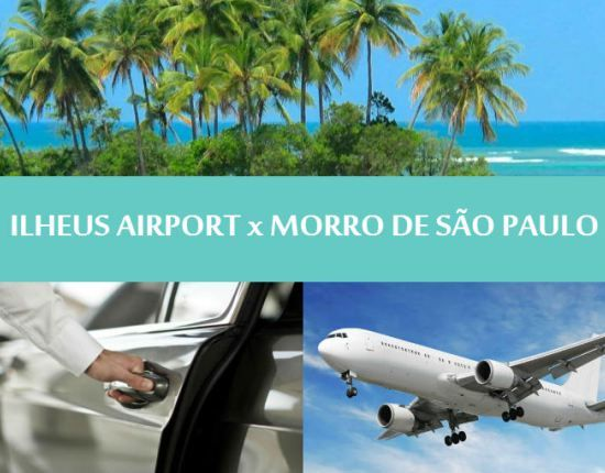 """TRANSFER ILHEUS AIRPORT to MORRO DE SÃO PAULO - One way """"The assurance that everything will work"""" We offer to our customers a comfortable transfer to MORRO DE SÃO PAULO from ILHEUS airport (ILH) in private transfer. One of our driver will be waiting for you at the airport arrival gate. You will be driven to Morro de São Paulo with comfort and safety for your transfer Ilheus airport to Morro de São Paulo. Available only for flights arriving before 12h00 am."""