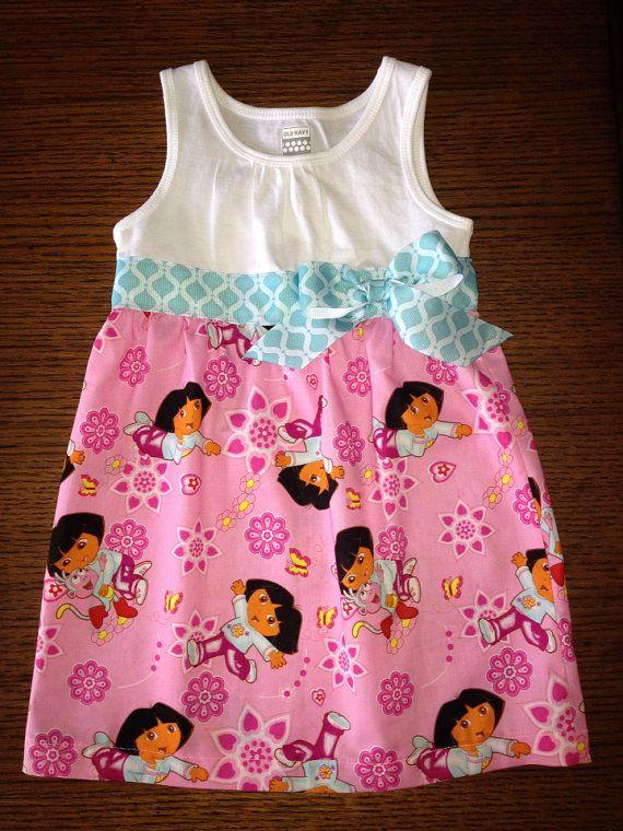 Dora the Explorer dress on Etsy, $30.00