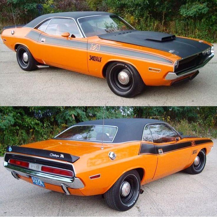 1970 Dodge Challenger #dodgeclassiccars