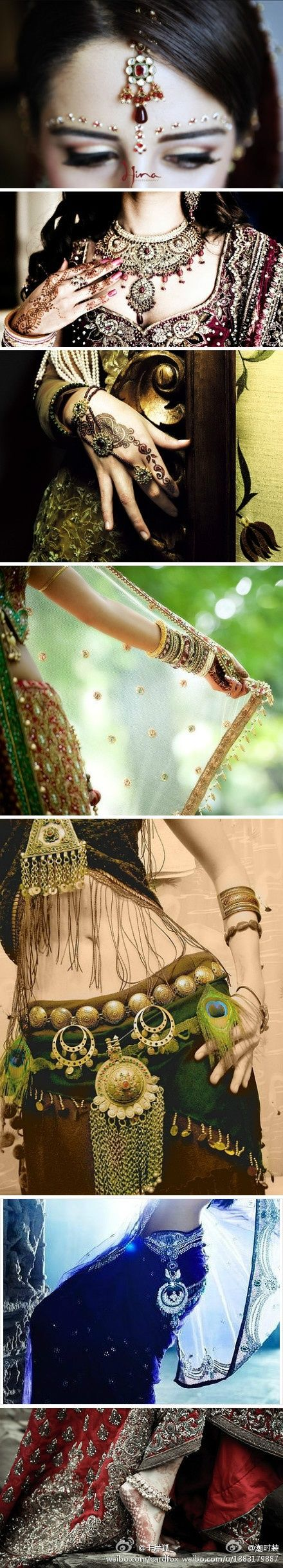 Indian wedding jewelry!!! Love this