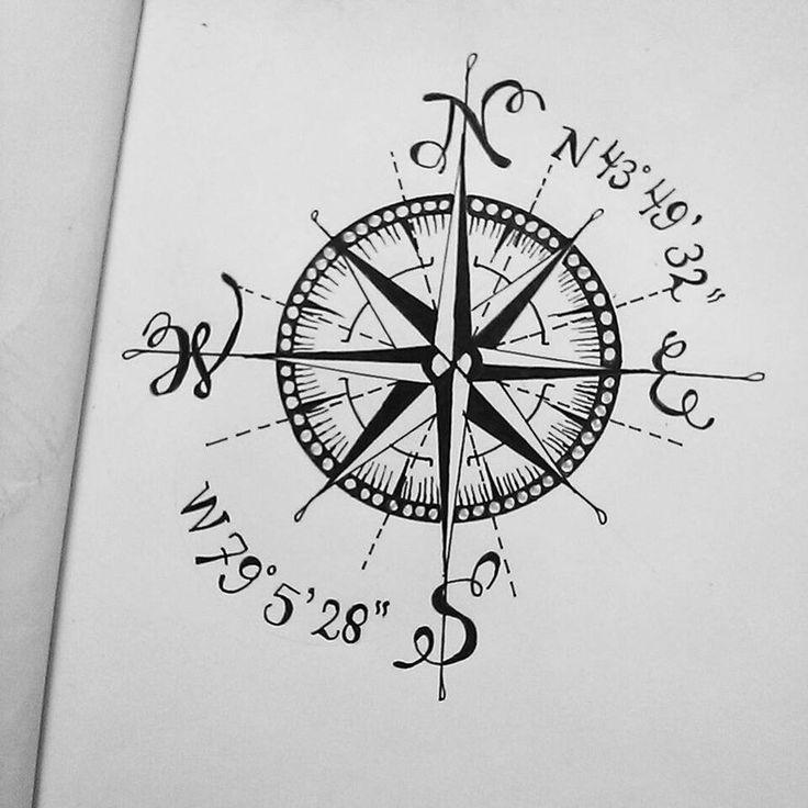 How To Plan Your Custom Tattoo Design: Best 25+ Coordinates Tattoo Ideas On Pinterest