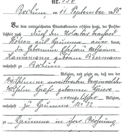 8 best German Ancestry Researcher images on Pinterest Ancestry - best of russian birth certificate translation sample