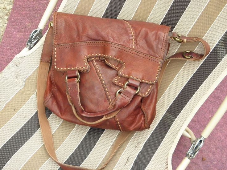 LUCKY BRAND ABBEY ROAD CROSSBODY BAG-BOURBON BROWN-ELENA'S BAG-  #LuckyBrand #CrossbodyMessenger Buy It Now $49.99 Ebay item # 202116558199 -- SOLD! -- Wisconsin bound!