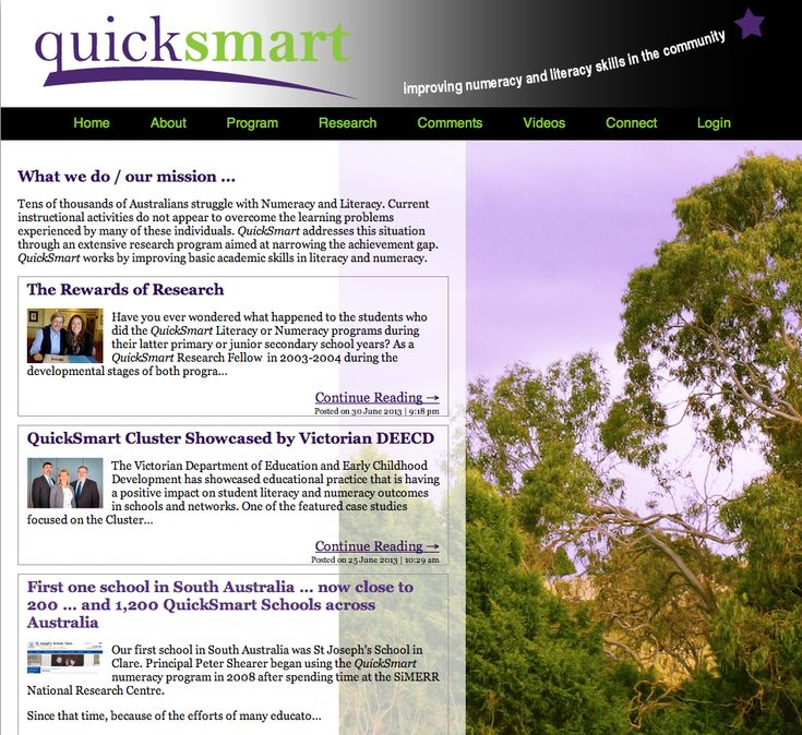 QuickSmart: Improving Literacy and Numeracy Skills in the Community