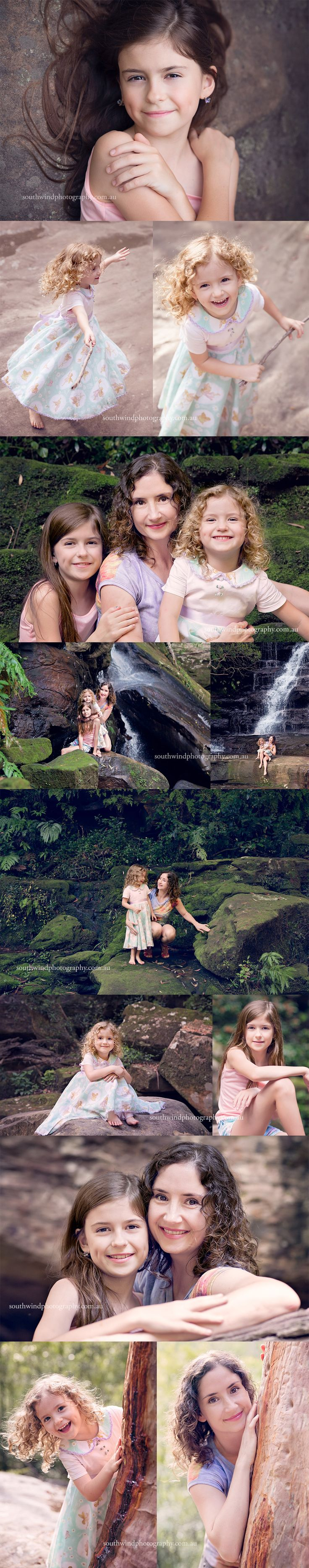 Beautiful B family at Somersby Falls | Central Coast Portrait Photography
