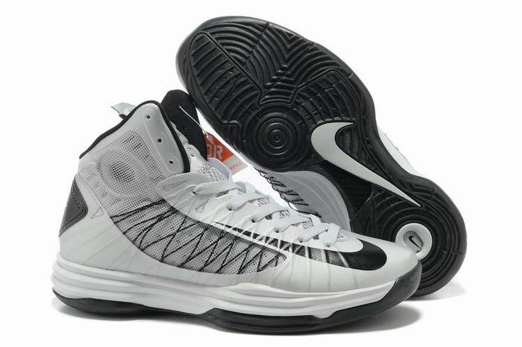 Nike Lunar Hyperdunk X 2012 James Silver Black NZH0626
