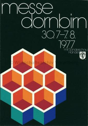 Othmar Motter (Vorarlberger Graphik) – Dornbirn exhibition, 1977
