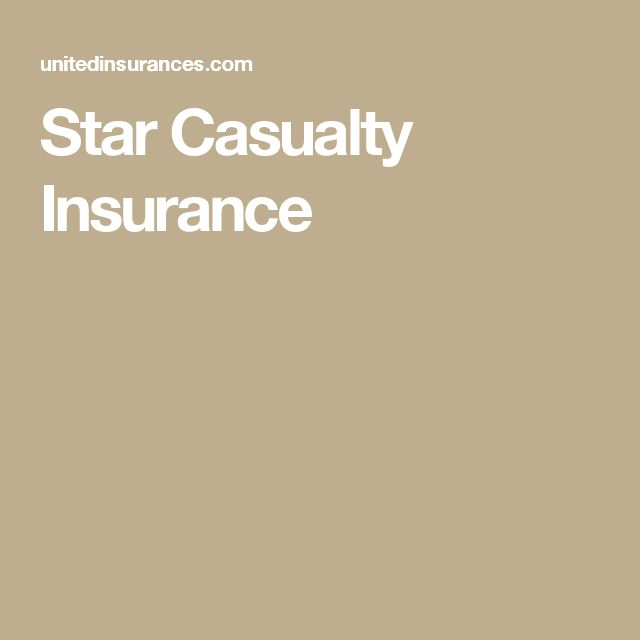 Star Casualty Insurance