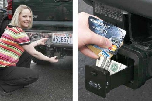 Cool High-Tech Gadgets New   ... Valuables Safely in your Trailer Hitch – New high tech spy gadgets