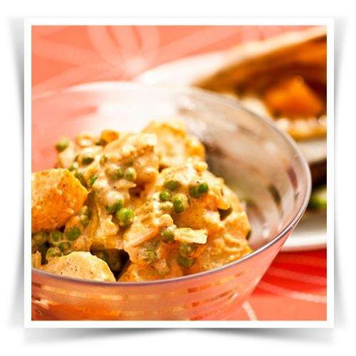Samosa Inspired Potato Salad #Pataks #Grill #BBQ #Summer #Barbecue #Recipe #IndianFood #India #MixinaLittleIndia #MixinaLittleBBQ