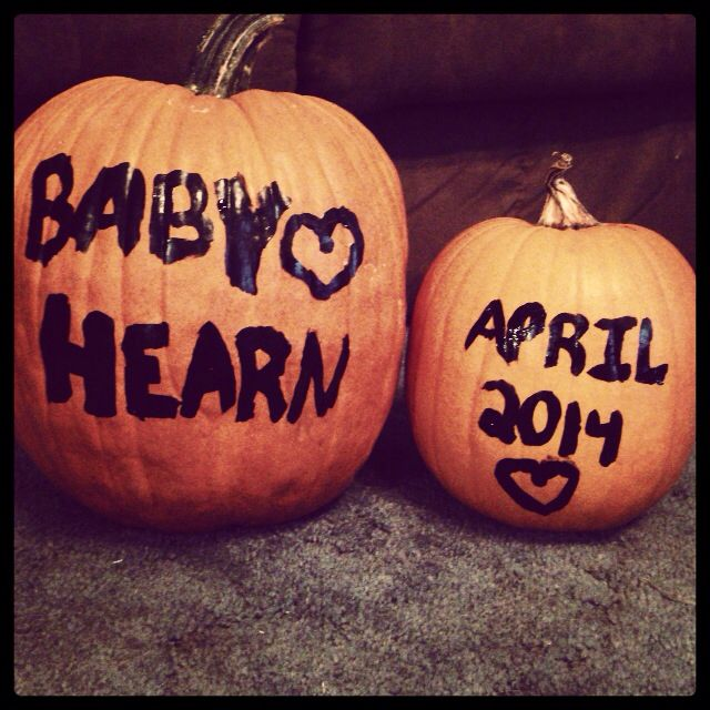 Easy cute way to decorate or baby announcement for ...