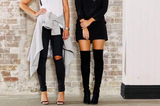 Thigh high boots: How to wear them (without giving off the stripper vibe)  | how to wear galleries feature fashion daily  picture