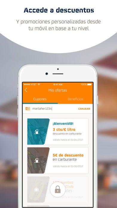 Usa este código y recibe 3 € de descuento en carburante. CÓDIGO: f9ma2234. Descárgate la App Repsol Waylet y comienza a ahorrar tiempo y dinero.    Apple Store: http://itunes.apple.com/es/app/waylet-repsol/id494847823?mt=8     Google Play: https://play.google.com/store/apps/details?id=com.mdf.repsol