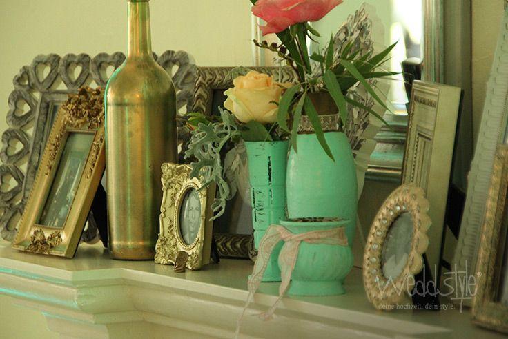 218 besten mint hochzeitsdeko bilder auf pinterest hochzeit deko farbkonzept und farbpaletten. Black Bedroom Furniture Sets. Home Design Ideas