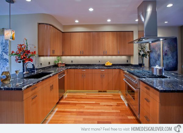15 Contemporary U-shaped Kitchen Designs